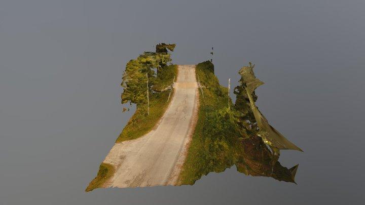 Pyhtössalmi bridge 3D Model