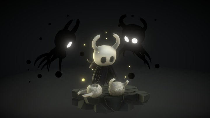 Echo's Of a Previous Life (Hollow Knight) 3D Model