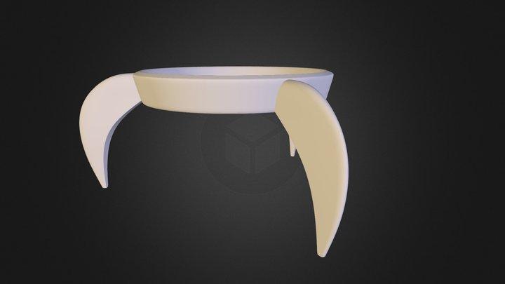 Egg Rocket 3D Model
