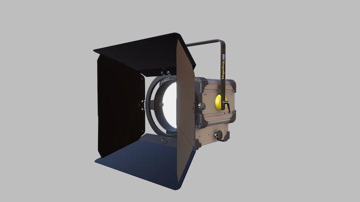 VEGALUX 500 StudioLED FRESNEL Big 5K 3D Model