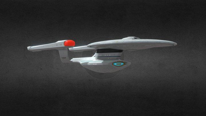 U.S.S. Destiny Fan Design 3D Model