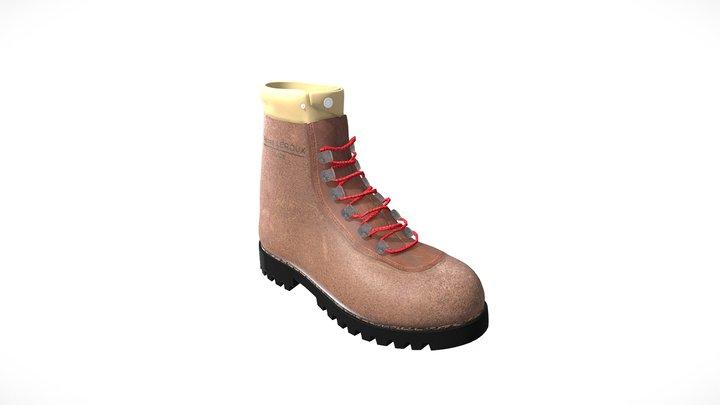 Chaussure d'alpinisme 3D Model