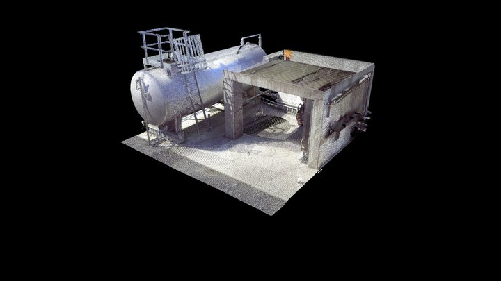 Tank Fire Room 3D Model
