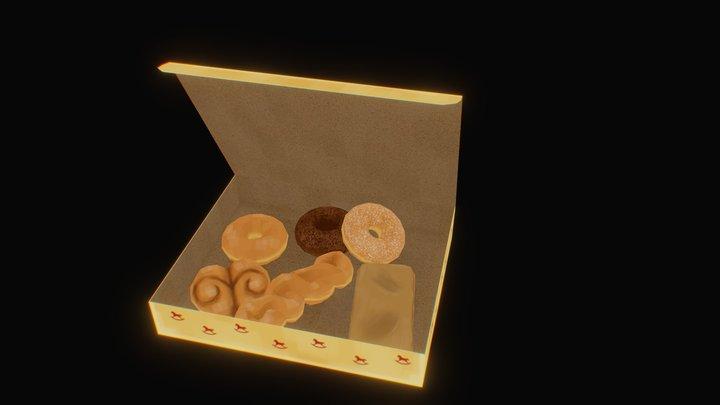 Banbury Cross Donuts 3D Model
