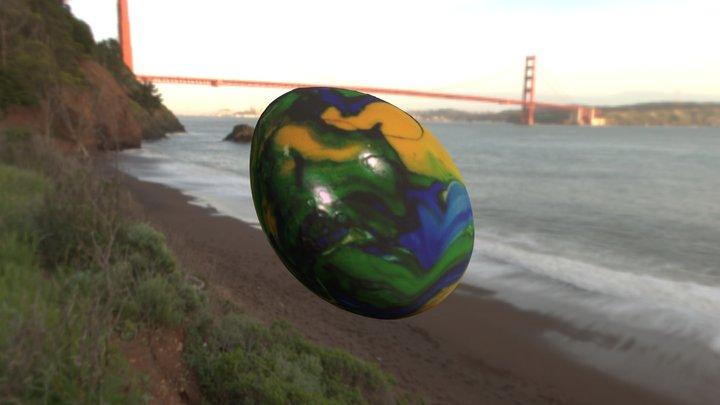 osterei   //   Easter egg 3D Model