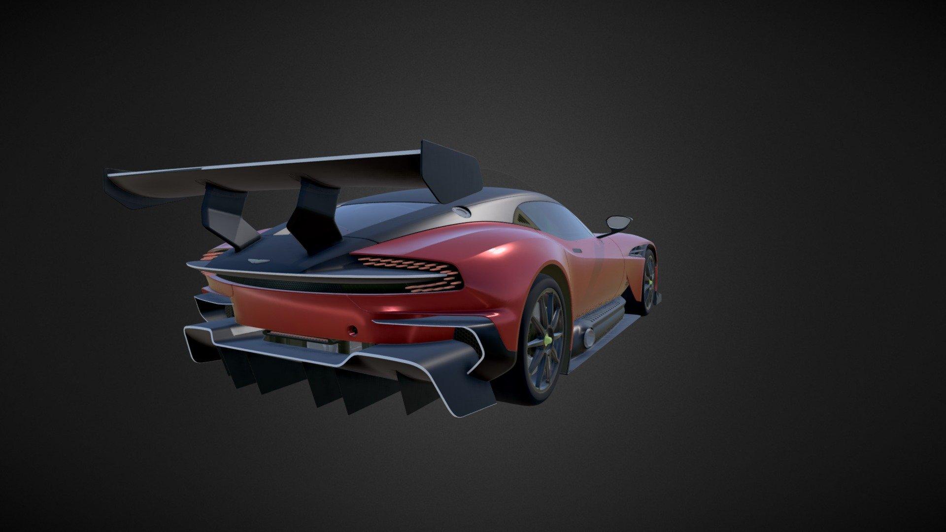 Aston Martin Vulcan Buy Royalty Free 3d Model By Evodelize Evodelize Dc7d9c8