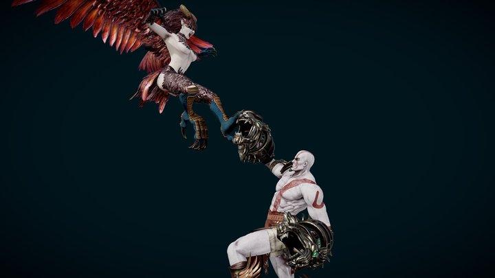 God of War 3D Model