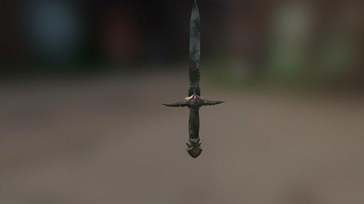 Sunken Dagger 3D Model