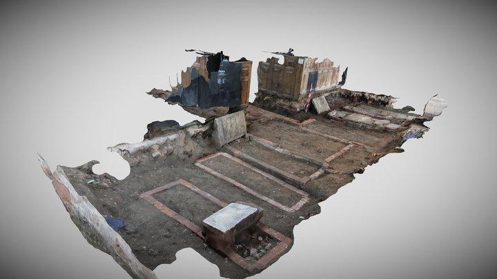 Interior Altar Area Simplified 3d Mesh 3D Model