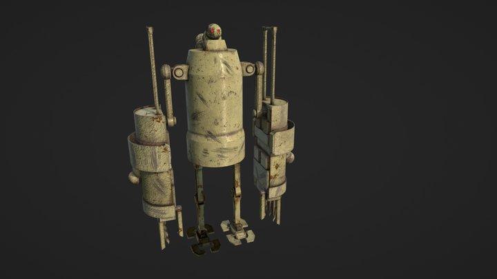 Goliath Biped 3D Model