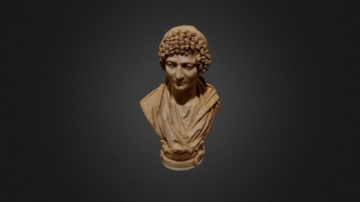Head of a Priestess 3D Model