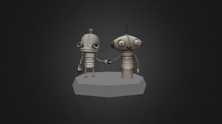 VGREMIX Machinarium Couple 3D Model