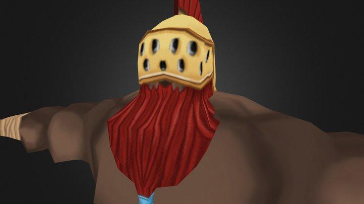 Barbaro 3D Model