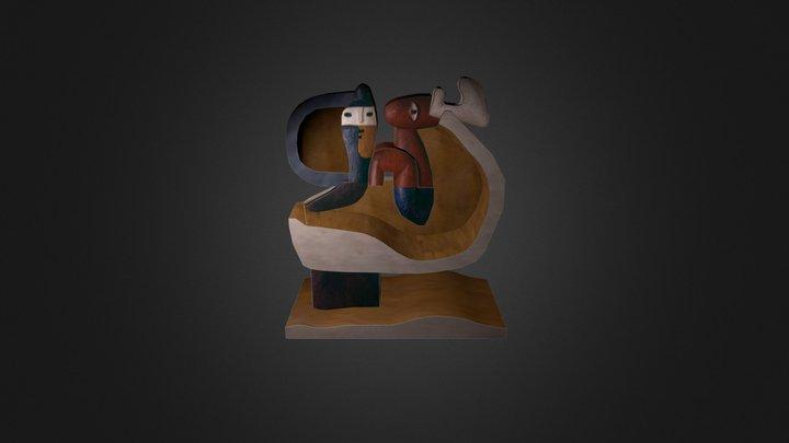 L'enfant est là de Le Corbusier 3D Model