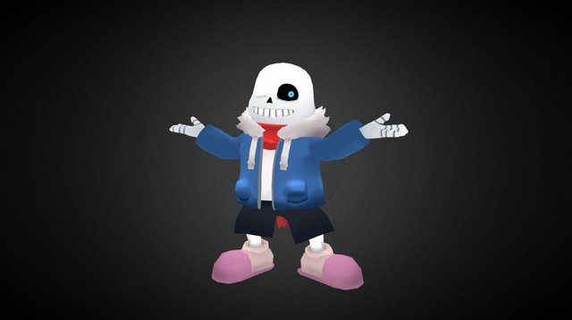 Sans - on days like these 3D Model