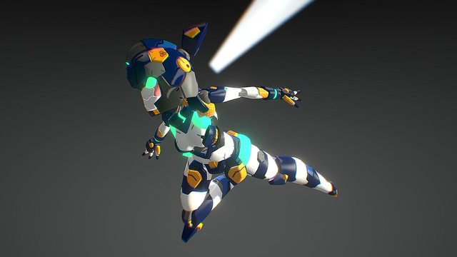 EXPE-X001 GHG 3D Model
