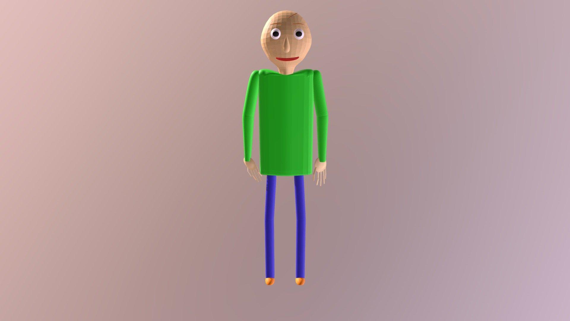 Baldi Happy - Download Free 3D model by Baldi_BaldimoreYT ...