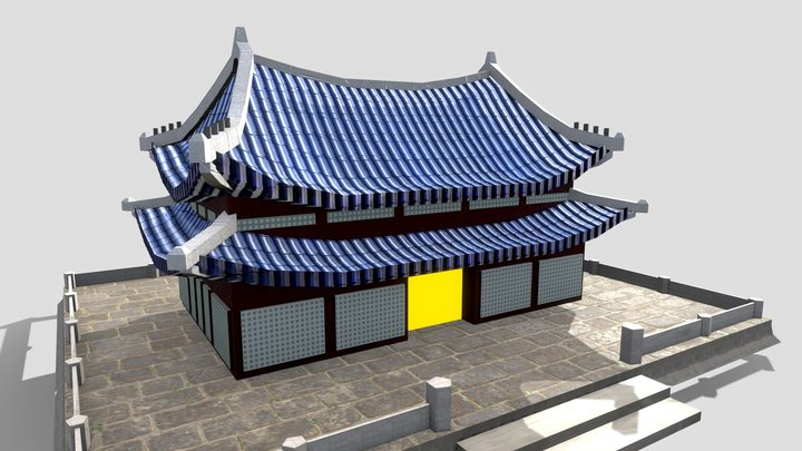 Palace2 With Texture 3D Model