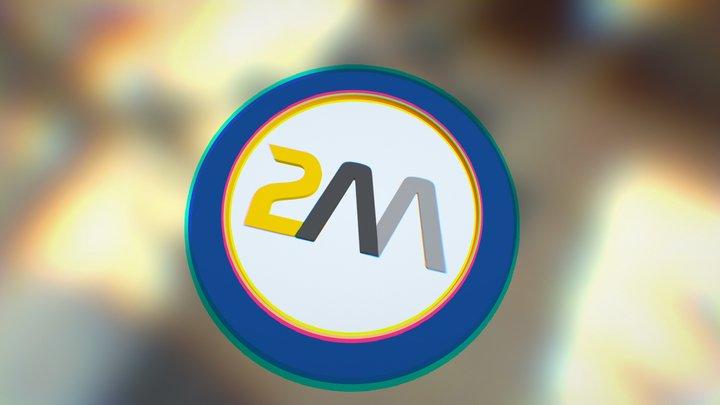 2M Logo 3D Model