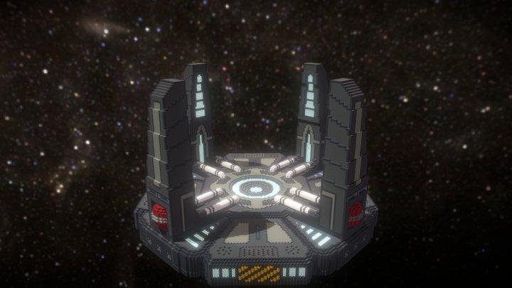 Space Spawn | Hub 3D Model