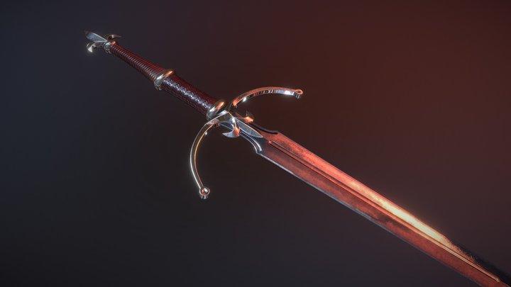 Sword of Lys 3D Model