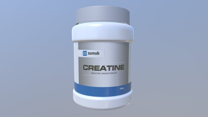 Zumub Creatine 3D Model