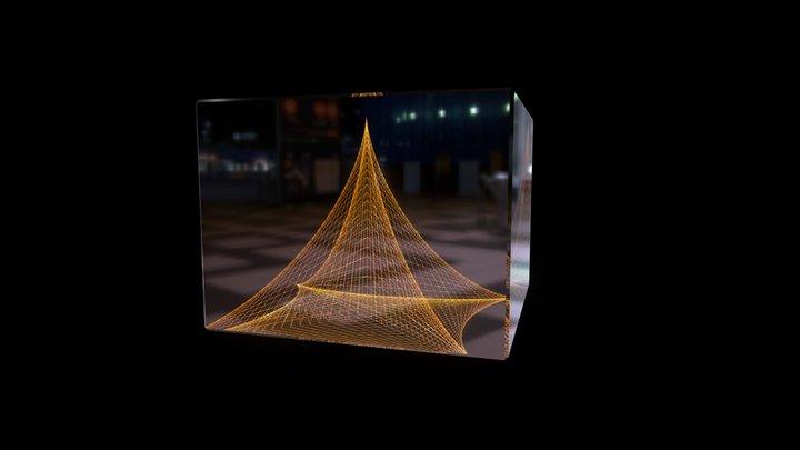 Abstract Art 3D Model