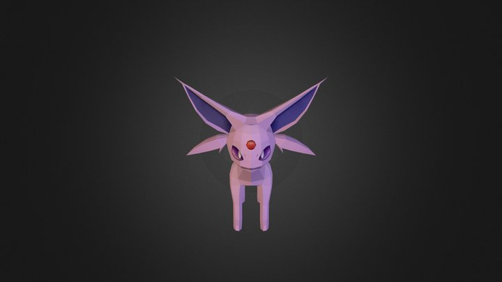 Espeon 3D Model
