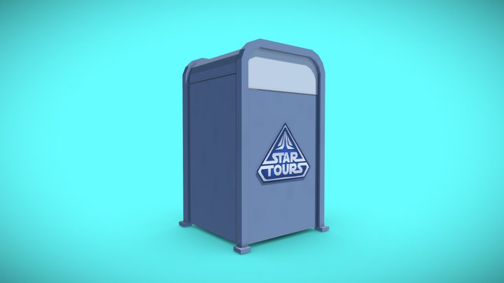 Star Tours Trash Can
