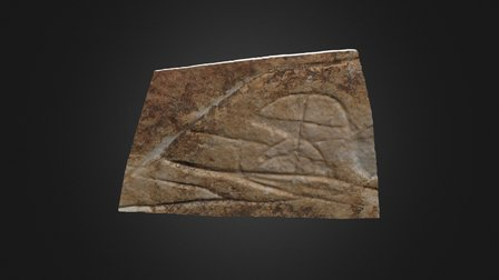 Grabados rupestres, Cabuquero - Tenerife 3D Model