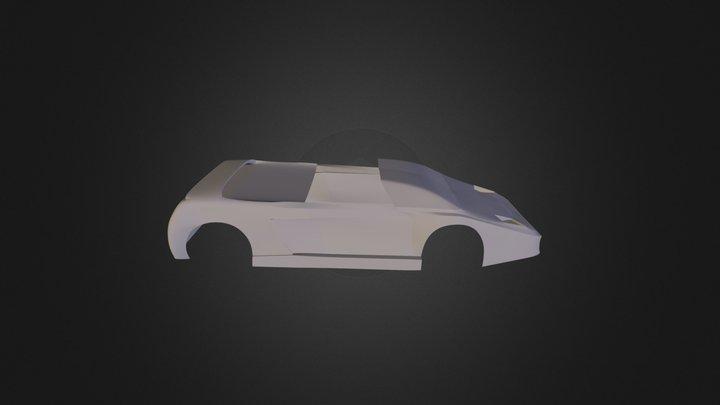 Ferrari Mythos 3D Model