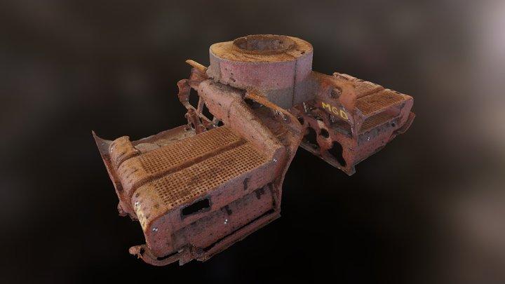 Caldera del Navío Wateree de 1863 3D Model