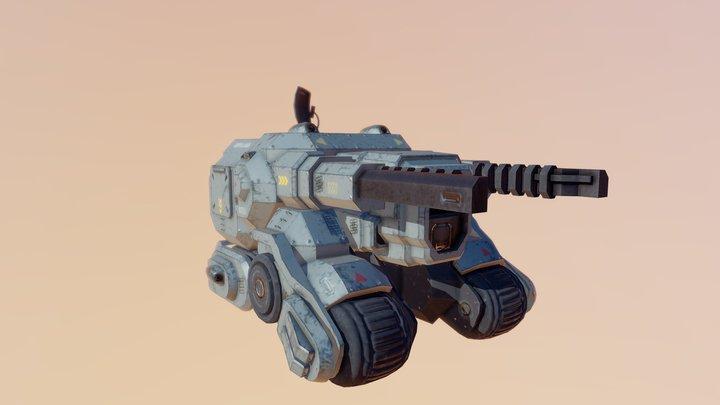 BullFrog 3D Model