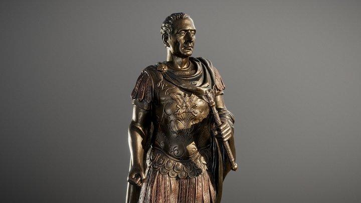 Gaius Julius Caesar 3D Model