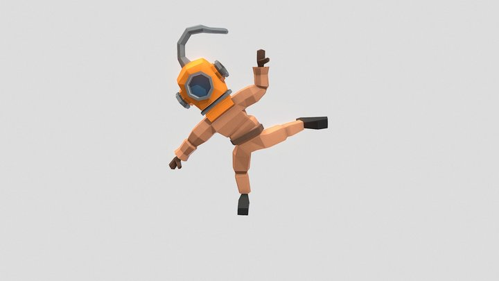 Episode 66 - Diver 3D Model