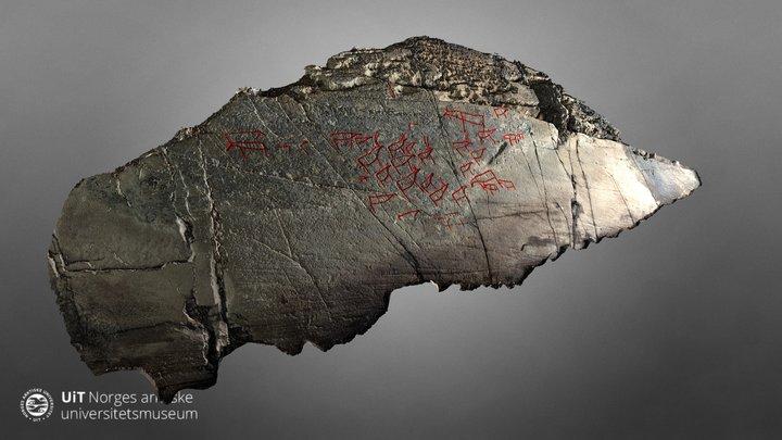 Gamnes rock art site (ID 219046) 3D Model