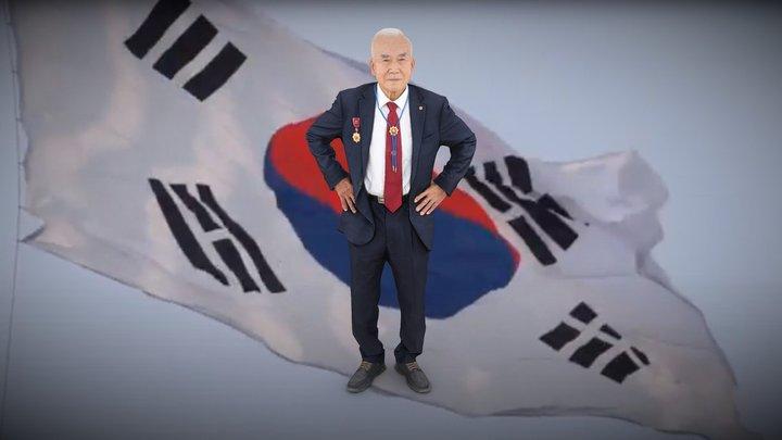 전북동부보훈지청 6.25 70주년 윤명한 참전용사님 3D Model