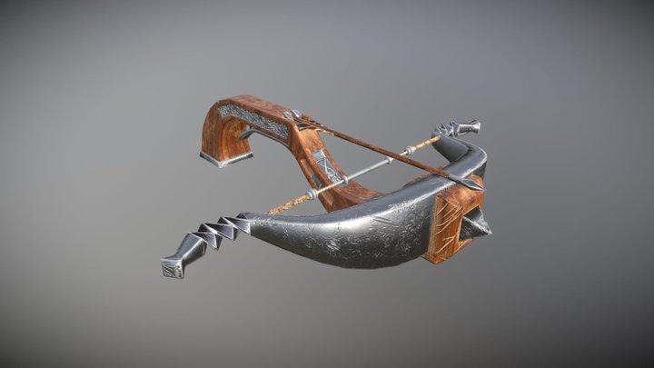 Game Art Crossbow 3D Model