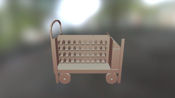 FCS Makerspace cart 3D Model