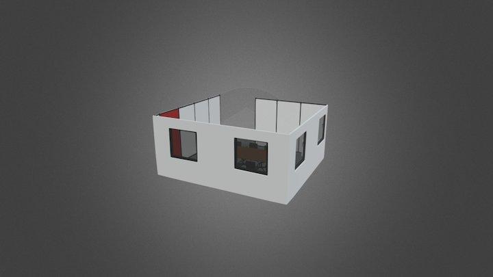 Meeting Room - 3D Model Alt 3D Model