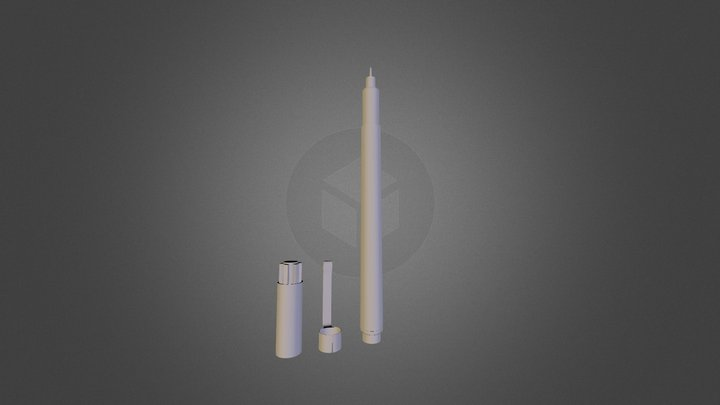 Micron Pen 3D Model