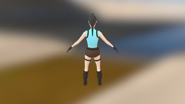 Proj I - Main Character 3D Model