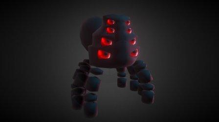 Spider Boss 3D Model