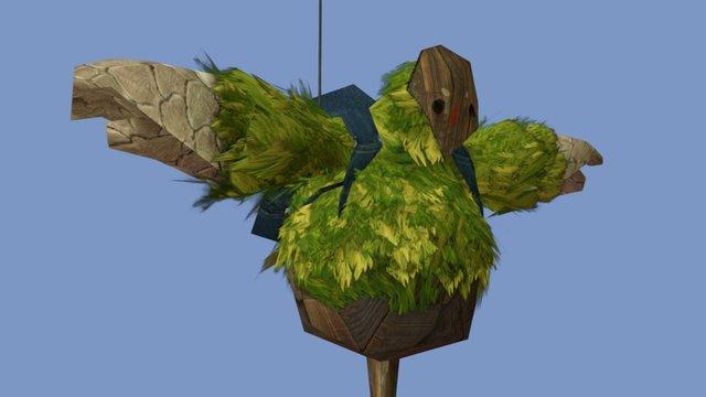 Balloon scarecrow 3D Model