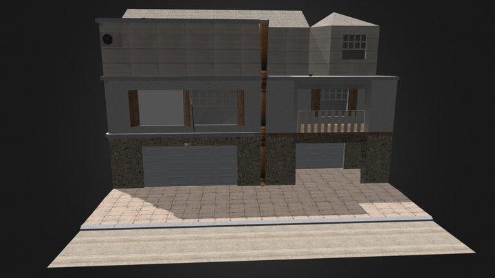 Entorno Modular Con Textura 3D Model