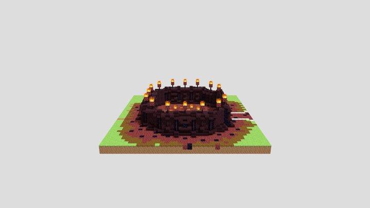 Fire arena 3D Model