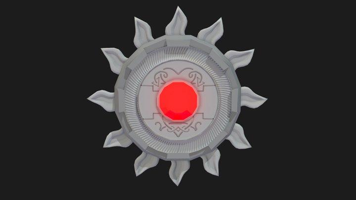 Holy Symbol Of Ravenkind 3D Model