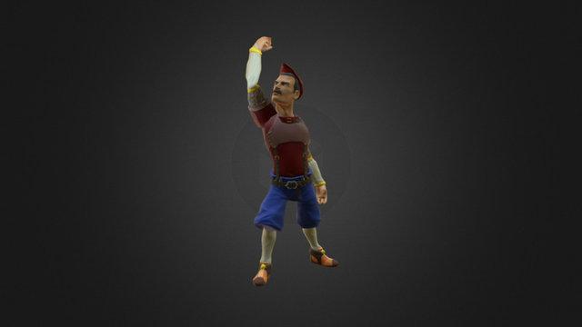 Freddy Animation 3D Model