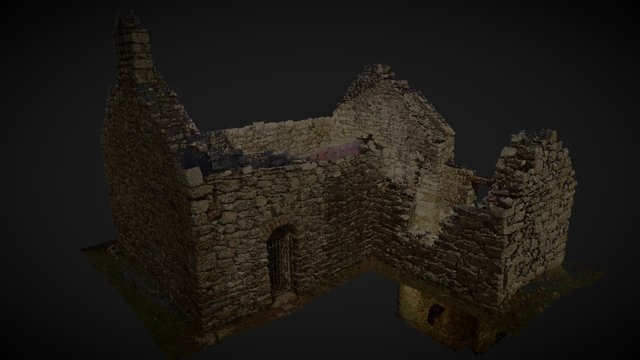 Capel Lligwy  Point cloud from laser scan 3D Model