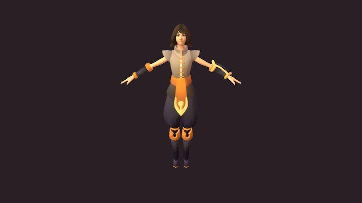 Nima - Game Character 3D Model
